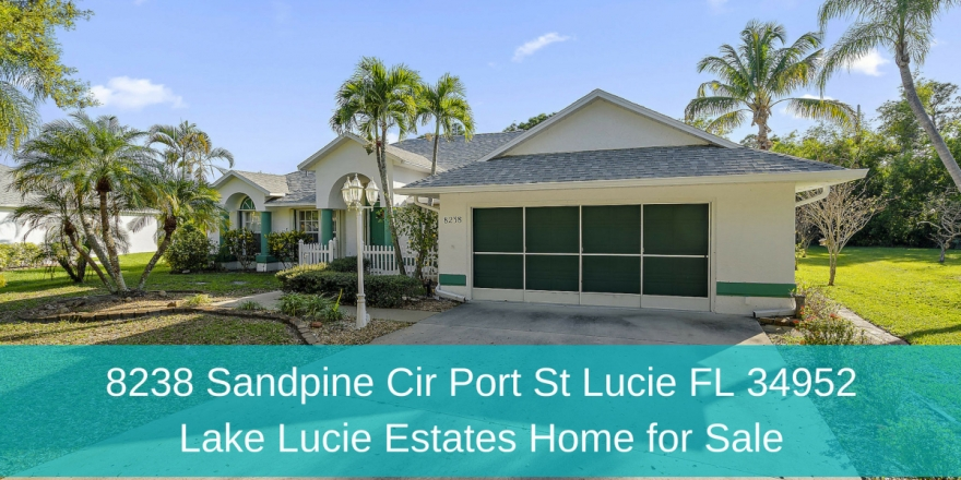 ​Homes for Sale in Port St. Lucie - Location is just the beginning of this Port St. Lucie home's long list of amazing features.