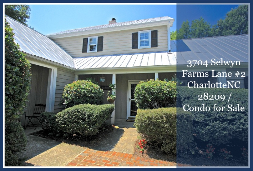 Own this recently updated Charlotte condo for sale.