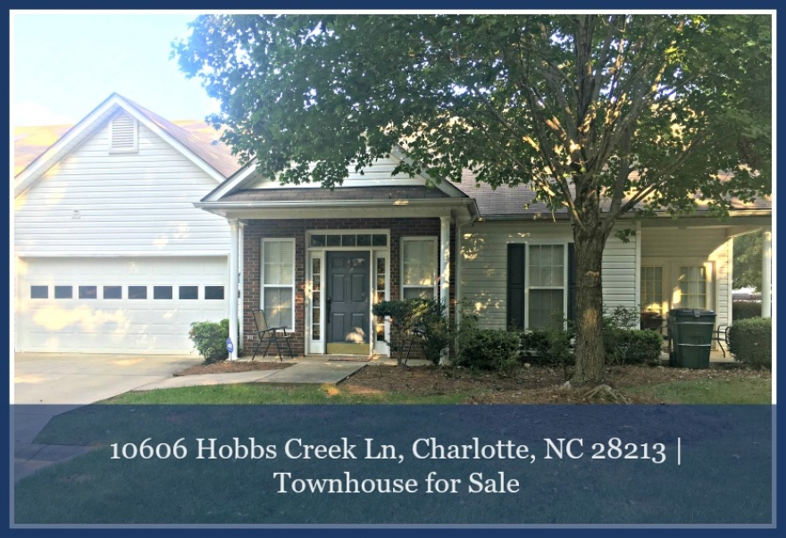Charlotte Townhouse for Sale - This Charlotte NC townhouse offers you privacy, retreat and complete relaxation.