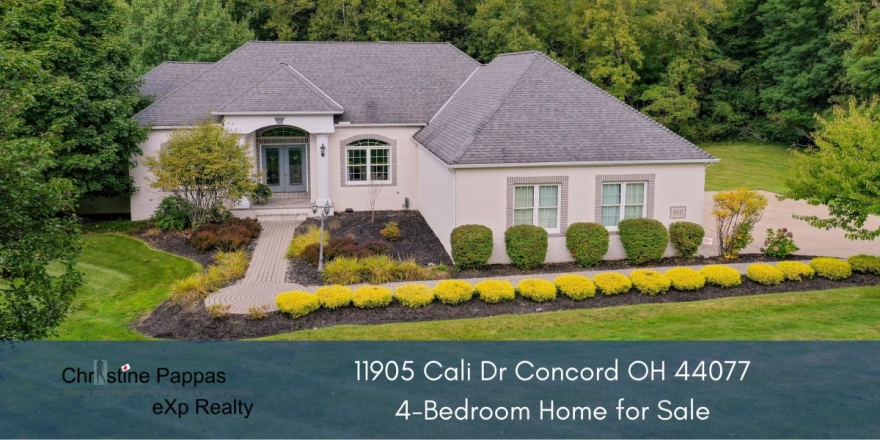 Homes for Sale in Concord OH - Embrace the peace and privacy you'll find in this stunning Concord home.
